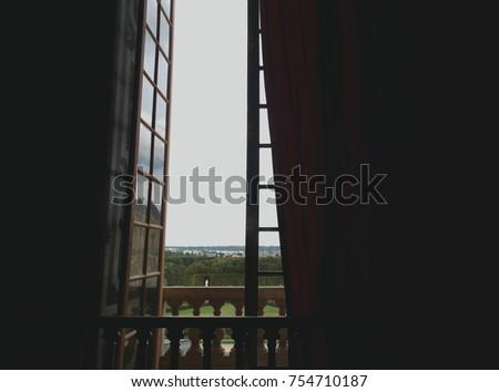 capturing random windows views in Paris. #754710187