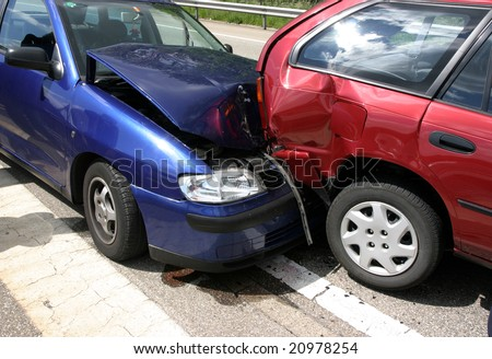 Accident  Photo on Stock Photo Car Accident 20978254 Jpg