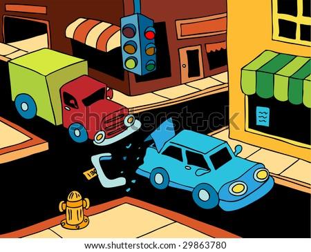 Cartoon Car Crash Pictures. Cartoon+car+crash+pictures