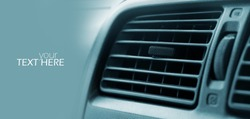 Car air conditioner with the copy space