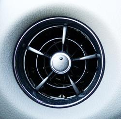 Car air conditioning nozzle, car air vent