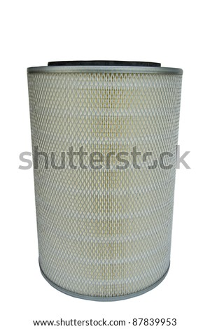 Car air filter size.