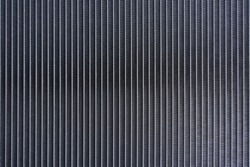 Car aluminum radiator cooling panel pattern texture for background.