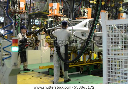 car Assembly at the plant