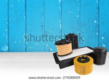 Car. Automotive Oil Filter