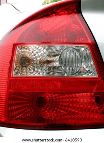Car backside signal light