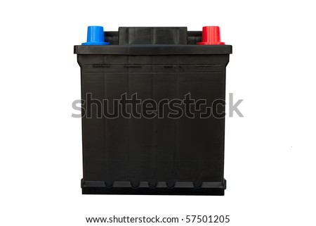 Car battery - isolated
