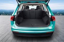 car big trunk open view.