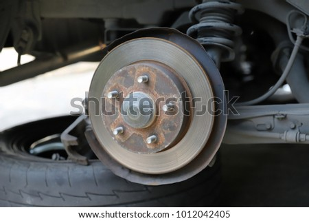 Car brake maintenance #1012042405