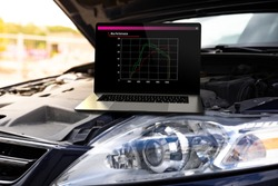 Car chip tuning using laptop