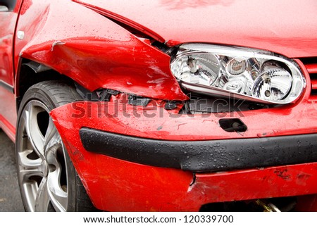 Car crash, insurance