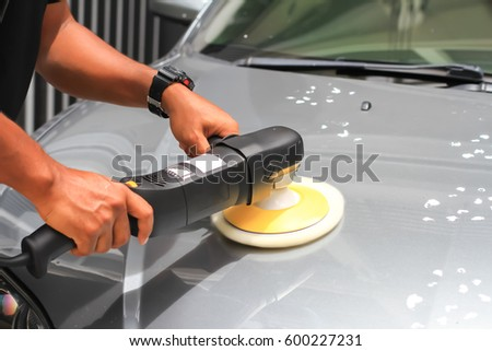 Car detailing : car polish #600227231