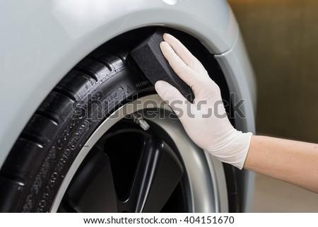 Car detailing series : Coating tire