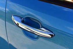 Car door handles with touch sensor