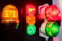 Car emergency lights. Sale of emergency lights for cars. Special signals for city services. Blinkers for special vehicles. Light signs for city services. Multi-colored signal lights.
