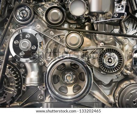 Car engine part #133202465