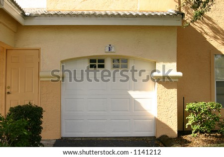 car garage - stock photo