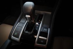 Car Gear Shift (closeup position gear). Let Drive.Gear CVT.Gear Auto in Car.