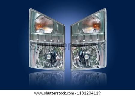 Car headlight, Automobile headlight #1181204119