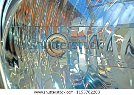 Car headlight texture #1155782203