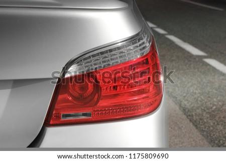 Car headlights. Luxury Headlights #1175809690