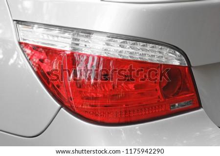Car headlights. Luxury Headlights #1175942290
