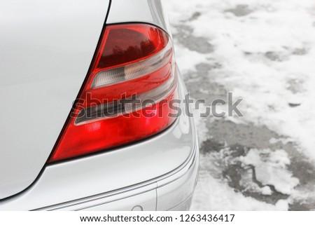 Car headlights. Luxury Headlights #1263436417