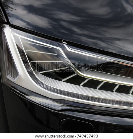 Car headlights. Luxury Headlights #749457493
