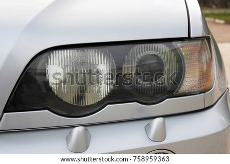 Car headlights. Luxury Headlights  #758959363