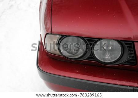 Car headlights. Luxury Headlights  #783289165