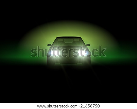 Car in Green color