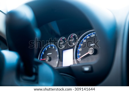 Car instrument panel #309141644