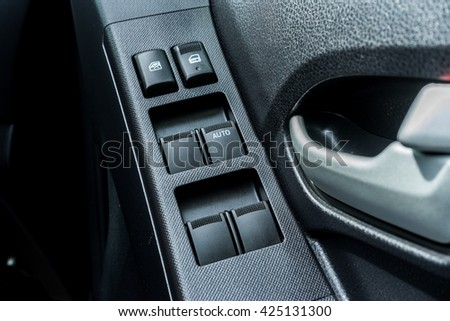 Car Interior Black Door Panel Nobody And Close Up Ez Canvas