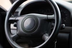 Car interior. Car panel. car trunk