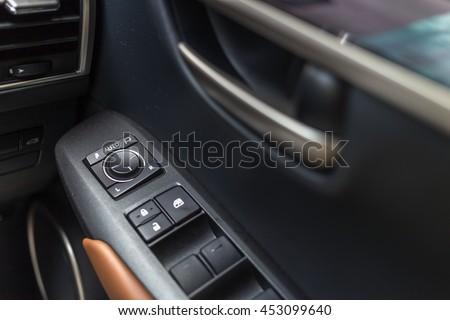 Car Door Interior Arm Rest With Window Control Panel Door Lock