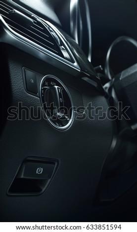 car interior dash board #633851594