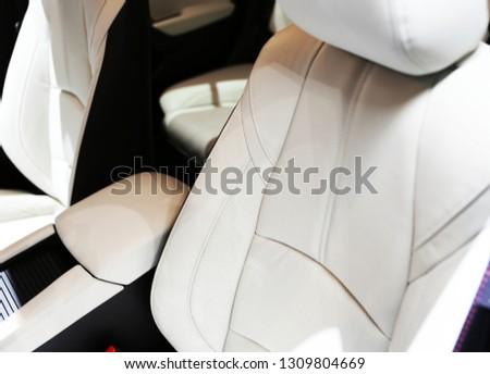 car interior details #1309804669