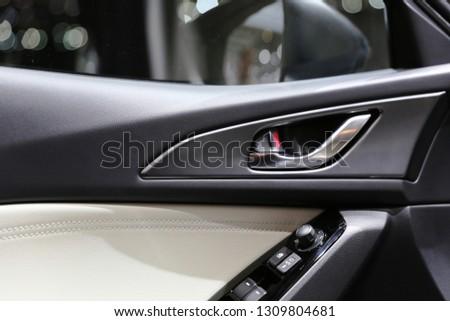 car interior details