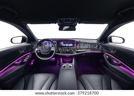 free photos car interior luxury interior of prestige modern car leather comfortable seats. Black Bedroom Furniture Sets. Home Design Ideas