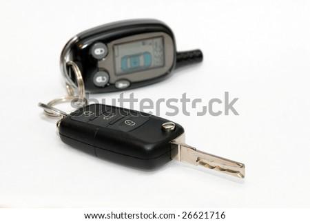 Car key and alarm