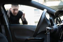 Car Key Lockout. Forgot Inside His Vehicle