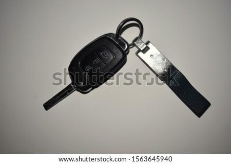 car key with key chain #1563645940