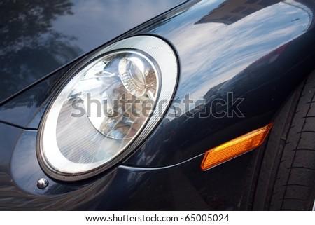 Stock Photo Car light