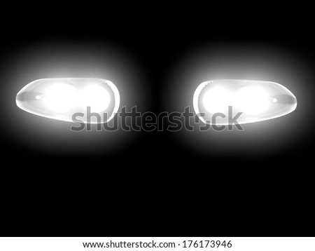 stock-photo-car-lights-in-the-darkness-d-render-176173946.jpg