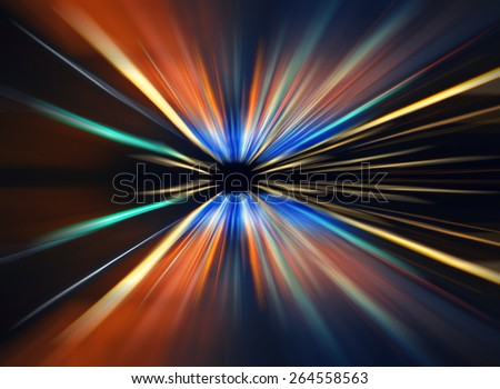 car lights on highway by night,abstract light speed trace,abstract speed background,light spectrum color