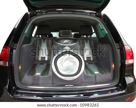 car luxury audio system