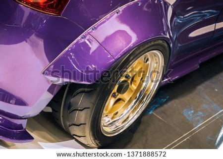 Car mag wheel.Magnesium alloy wheel. #1371888572