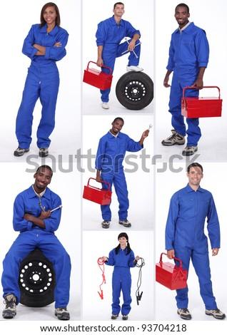 Car mechanicians