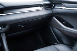 Car Modern interior of premium class car modern interior