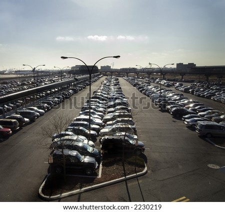 Car Park at Airport